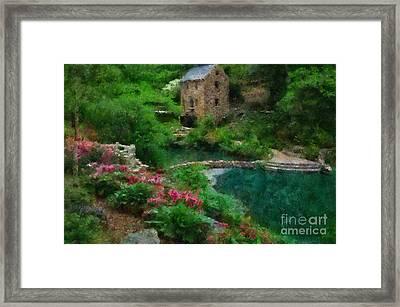 North Little Rock Ark Framed Print by Scott B Bennett