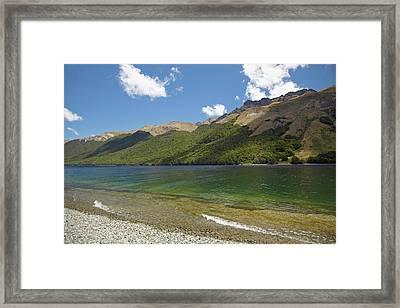 North Mavora Lake, And Livingstone Framed Print by David Wall