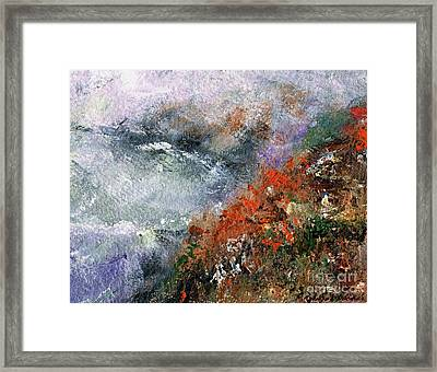 North Of Bodega Bay Framed Print