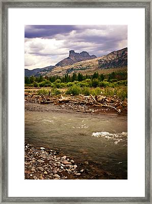 North Of Dubois 2 Framed Print by Marty Koch