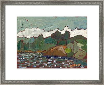 North Of Kingston Framed Print by David Dossett
