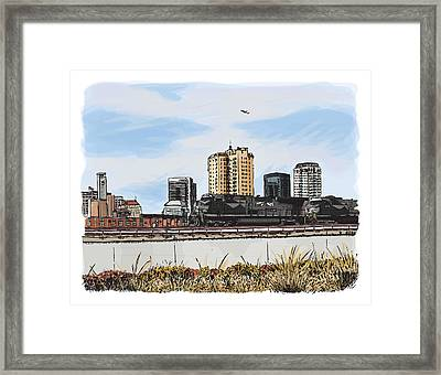 North Of The Park Framed Print