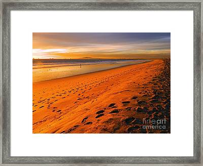 North Orange County Framed Print