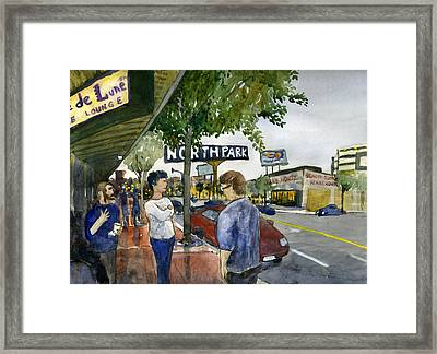 North Park Framed Print
