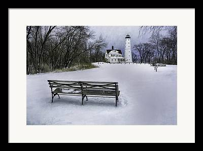 Keepers House Framed Prints
