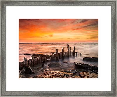 North Point Sky Framed Print