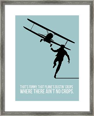North Poster 3 Framed Print by Naxart Studio