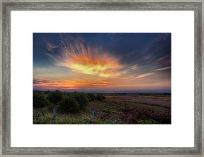 North Refuge Sunrise Framed Print