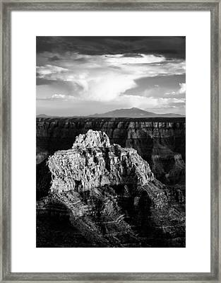 North Rim Framed Print by Dave Bowman