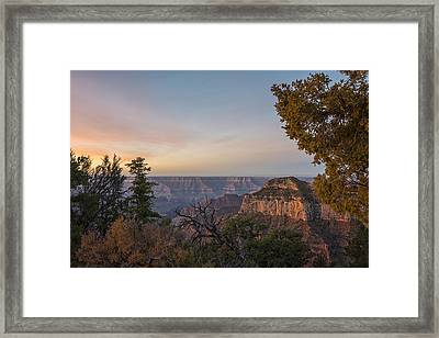 North Rim Sunrise 1 - Grand Canyon National Park - Arizona Framed Print