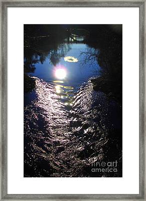 North River High Framed Print by Maria Scarfone