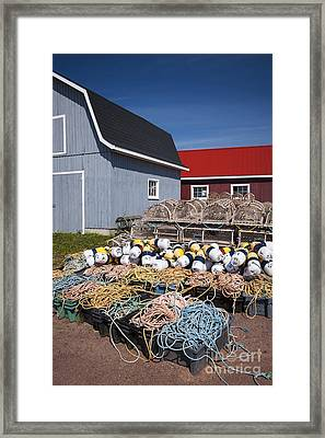 North Rustico Framed Print