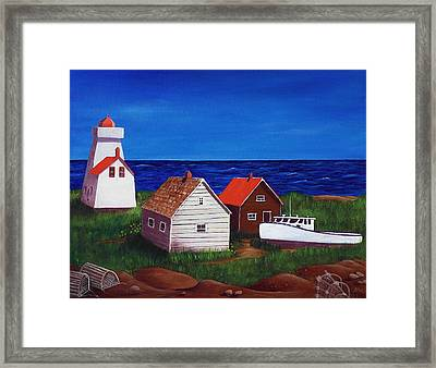 North Rustico - Prince Edwards Island Framed Print by Anastasiya Malakhova