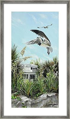North Shore Landing Framed Print