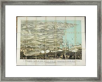 North Side Of Sebastopol Framed Print by British Library