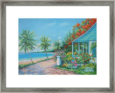 North Side View    16x23 Framed Print by John Clark