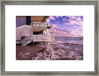 North Topsail Beach Tides That Tell Framed Print by Betsy Knapp