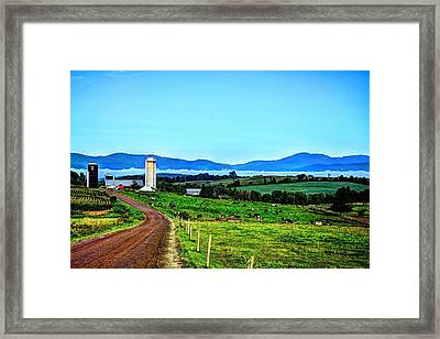 North Troy Dairy Framed Print