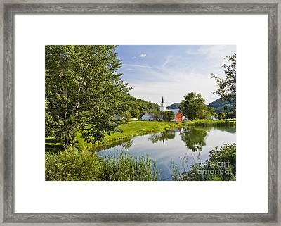 North Tunbridge Summer Framed Print