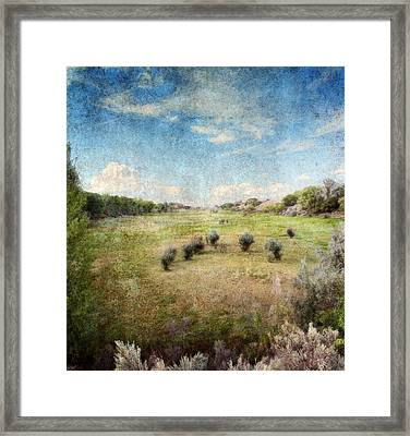 North Valley Framed Print