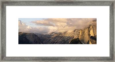 North Valley Panoramic Framed Print by Bill Gallagher