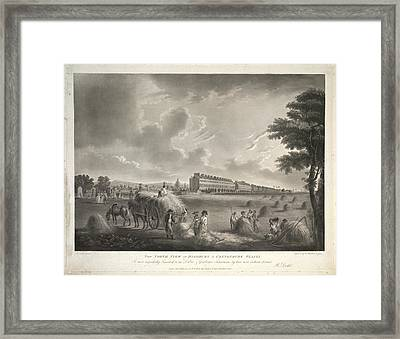North View Framed Print by British Library