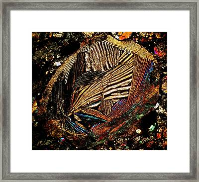 Mask Of Perfection Framed Print