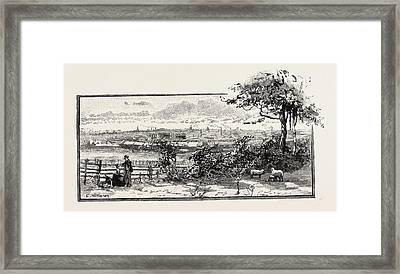 Northampton  Is A Large Town And Local Government District Framed Print