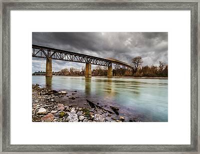 Northbound Framed Print by Randy Wood