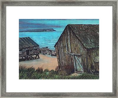 Northeast Coast Beach Framed Print