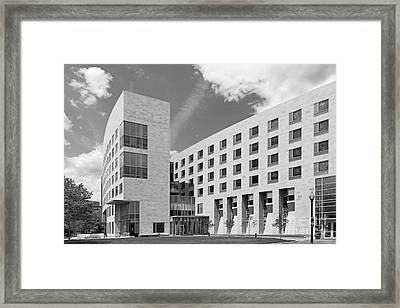 Northeastern University O' Bryant African American Institute Framed Print by University Icons