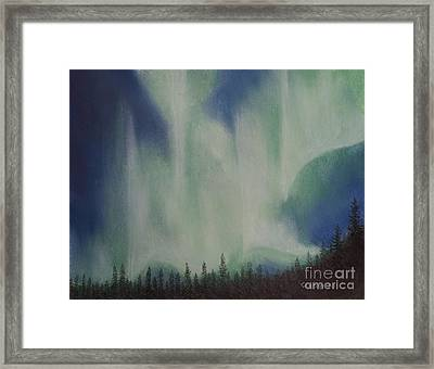 Northern Angel Bird Framed Print by Stanza Widen