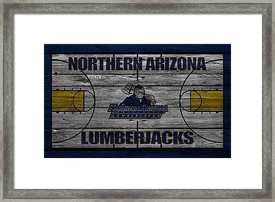 Northern Arizona Lumberjacks Framed Print by Joe Hamilton