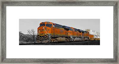 Northern Arizona's Orange Lumbering Beast Framed Print