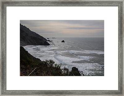 Northern California Coast- 578 Framed Print by Stephen Parker
