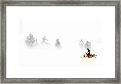 Northern Exposures.. Framed Print