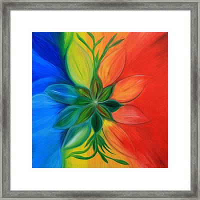 Northern Fire Framed Print