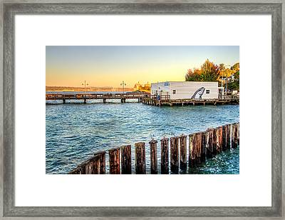 Northern Fish Co. Commencement Bay Framed Print