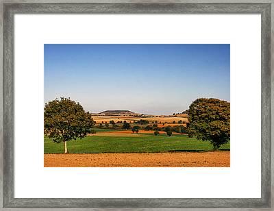 Northern France Landscape Framed Print