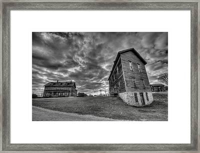 Northern Ghost Town Framed Print by Steve Goddard