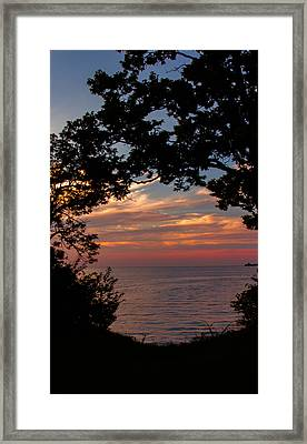 Northern Glow Framed Print