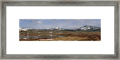 Northern Heights Framed Print