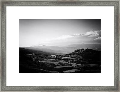 Northern Highlands Evening Framed Print