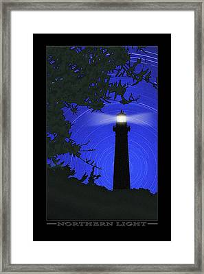 Northern Light Framed Print by Mike McGlothlen