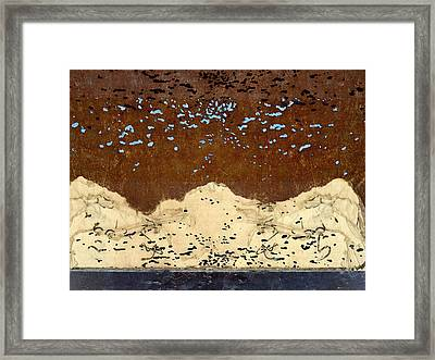 Northern Lights Framed Print by Carol Leigh