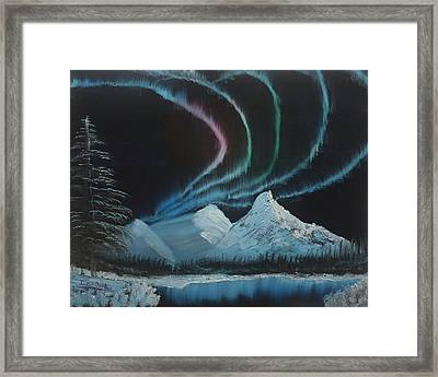 Northern Lights Framed Print by Ian Donley