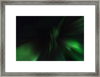 Northern Lights In Norway Framed Print