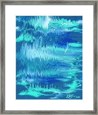 Northern Lights Framed Print by Lance Bifoss