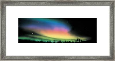Northern Lights Framed Print by Panoramic Images