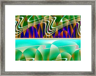 Northern Lights Framed Print by Raul Ugarte